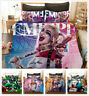3D Suicide Squad Harley Quinn Joker Duvet Cover Set Pillowcase Comforter Cover