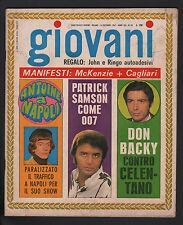 GIOVANI 50/1967 PATRICK SAMSON GIUSY ROMEO RAGAZZI VIA GLUCK STRATOS PROCOL HARU