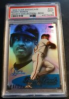 1999 BARRY BONDS FLAIR SHOWCASE LEGACY COLLECTION ROW 3 #25L PSA 9 24/99 POP 2
