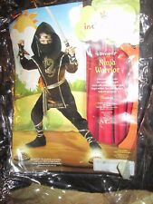 Boys NINJA WARRIOR Halloween Costume M Md Med 10 Incharacter