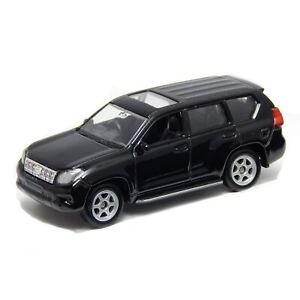 "Toyota Land Cruiser Prado J200 Black, Welly 1:60 1:64 No. 52285 3"" inch Toy Car"