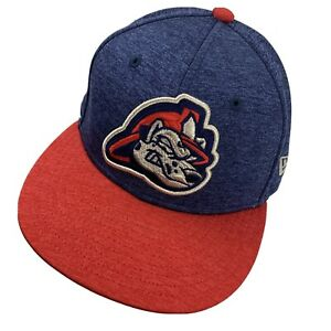 Peoria Chiefs Minor League Ball Cap Hat Fitted 7 1/4 Baseball Dalmatian New Era