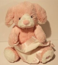 "Peek A Boo Puppy Animated Stuffed Animal Plush Pink 10""  GUND"