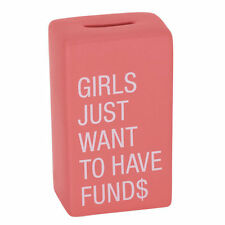 Girls Just Want To Have Fund$ Bank - FREE SHIPPING