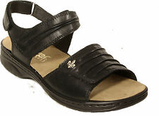 Rieker Damen-sandale Annett schwarz Größe 38