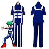 My Hero Academia Boku no Hero Kohei Horikoshi Sport Gym Uniform Cosplay Costume