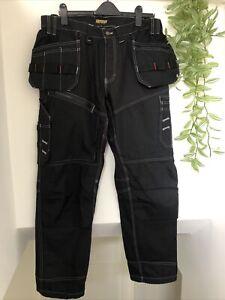 BNWT BLAKLADER WORKWEAR Craftsman 1500 Cotton Twill Trousers Size 38R RRP £89.99