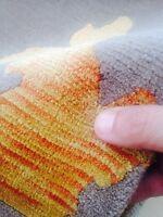 Tibetan 5x8 oriental Area Rug Nepal carpet gray gold silk & wool hand Knotted