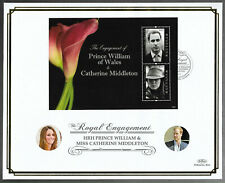 Guyana 2011 Large FDC Engagement of William & Catherine Ltd Ed 9/250
