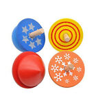 Spinning Top Toys Kids Wooden Toys Baby Gyro Toy Toddlers Funny Small Peg-top FM