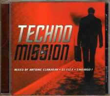 Compilation - Techno Mission - Le Son Des Clubs - CD - 2001- Techno House Trance