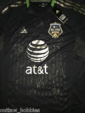 2012 MLS All Star 11 x Team Signed Autographed MLS Soccer Jersey COA Landon