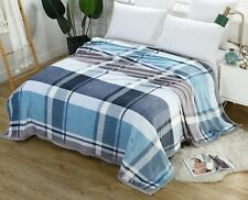 Tango Plaid Bedspread Coverlet Quilt Ultra Soft Full-Sized Bed Microfiber