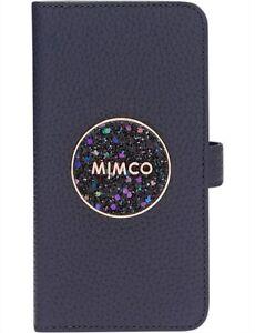 MIMCO FLIP CASE FOR IPHONE XS MAX - Bliss Centuri Blue -RRP $99.95- 100% Genuine
