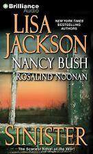 Sinister by Lisa Jackson, Rosalind Noonan and Nancy Bush (Abridged Audiobook)