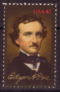 UNITED STATES 2009 EDGAR A, POE UNMOUNTED MINT, MNH.