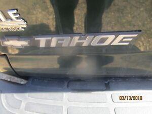 00 01 02 03 04 05 06 Chevrolet Tahoe Door Liftgate Emblem Nameplate Badge Decal
