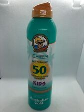 Australian Gold Kids Continuous Spray Sunscreen SPF 50 6 oz Exp 10/2021