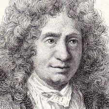 Portrait XIXe Michel-Richard de Lalande Compositeur Musique Baroque Eau-Forte