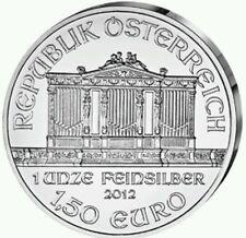 Onza de plata Austria 2012