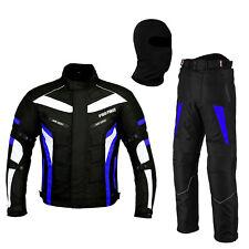 Motorcycle Racing Suit Motorbike Riding Cordura Waterproof Jacket Trouser Armour
