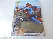 "SPIDER-MAN Puzzle Inlay 16 Pieces 8.75""x 11.5"" *Ages 4+ Marvel Spider Sense"