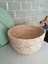 BLOOMINGVILLE Denmark ♠ Basket Korb Seegras Brotkorb natur  ø29 x H 16 cm