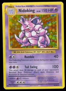 Pokemon NIDOKING 45/108 - XY Evolutions - RARE HOLO - MINT
