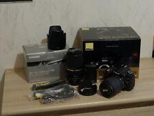 Nikon D d90 12.3 mp SLR-cámara digital-Negro (kit M/AF-S DX 18-105mm...