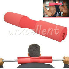 Gym Strength Cushioned Weight Lifting Barbell Pad Shoulder Protector Fitness Red