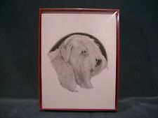 Soft Coated Wheaten Terrier Blank Note Cards Earl Sherwan 1984 Set of 9