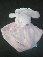 Doudou Plat Lapin Rose Collection Guimauve Babynat Babynat Neuf 2 Disponibles
