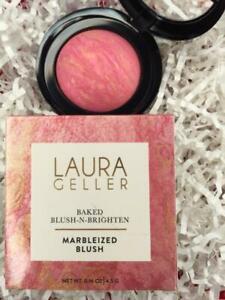 LAURA GELLER Baked Blush-n-Brighten SUNLIT ROSE .16oz Full Size - NEW in Box!