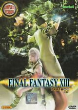 Final Fantasy XIII (Part 2: Chapter 9~16 End) DVD Anime English Sub _All Region