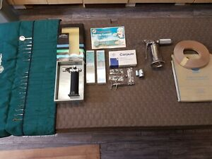 Zahnarzt Instrumente, Dental Zubehör, Wurzelkanalbohrer, Zahnsonde, Inj.-Spritze