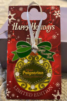 WDW Happy Holidays 2018 Resort Polynesian Pin