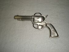 """Classic COLT 45 Style Pistol Metal Belt Buckle All Pewter 2 1/2"""" X 5"""""""