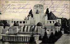 1915 Feldpostkarte & Stempel BÜHL Baden Grossherzog Friedrich-Denkmal 1. WK War