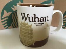 China Wuhan 16oz Starbucks Coffee Collectible Series City Mug