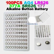 Alkaline LR66 LR626 SG4 100 AG4 Button Batteria Cellulare orologio per orologioz