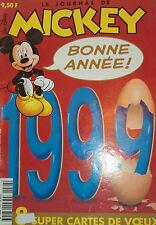 LE JOURNAL DE MICKEY N° 2428  30 décembre 1998 ;