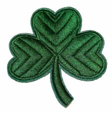 """Guinness Shamrock Clover Logo 3"""" Tall Embroidered PATCH"""