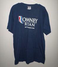 MITT ROMNEY tee XL conservative T shirt 2012 Presidential Run Paul Ryan patriot