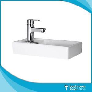 400mm Vanity Unit Basin - Bathroom / Cloakroom. Sit on Basin