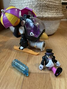 Imaginext Penguin helicopter vehicle & figurine - complete