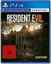 Resident Evil 7 Biohazard (Sony PlayStation 4, 2017, DVD-Box) PS4 neuwertig