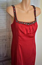 Red Wiggle Jessica Rabbit Style Pin Up Dress - Size 14