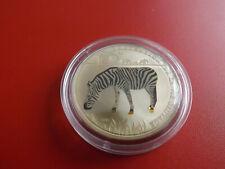 * Togo 100 Francs 2011 PP/ Prism *WWF* Zebra /ca,39mm (Schub109)