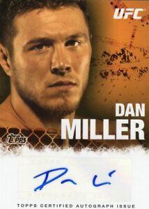 Dan Miller 2010 Topps UFC Autograph