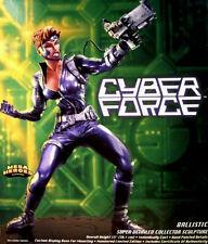 Mattel Silvestri Cyberforce Ballistic Moore Bowen XMEN Statue MIB LAST ONE